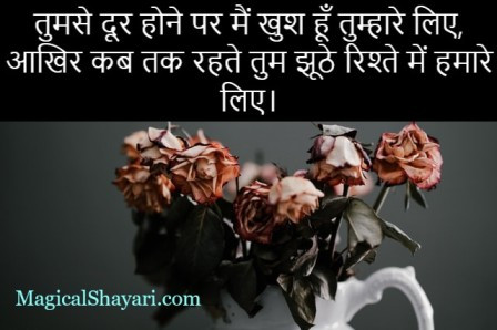 Breakup Status In Hindi, Sad Breakup Quotes Hindi