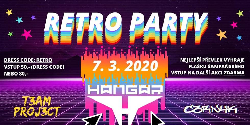 RETRO PARTY ve Vlašimi // 7. 3. 2020