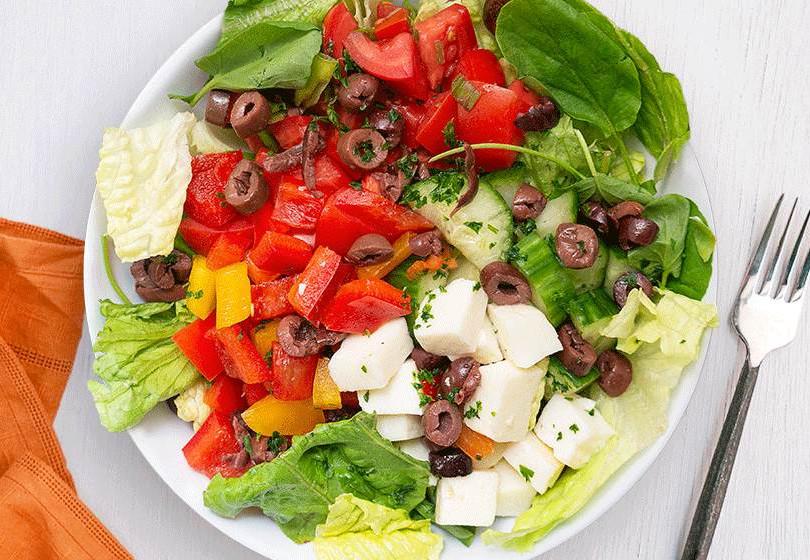 Zorba the Greek Salad for Sally