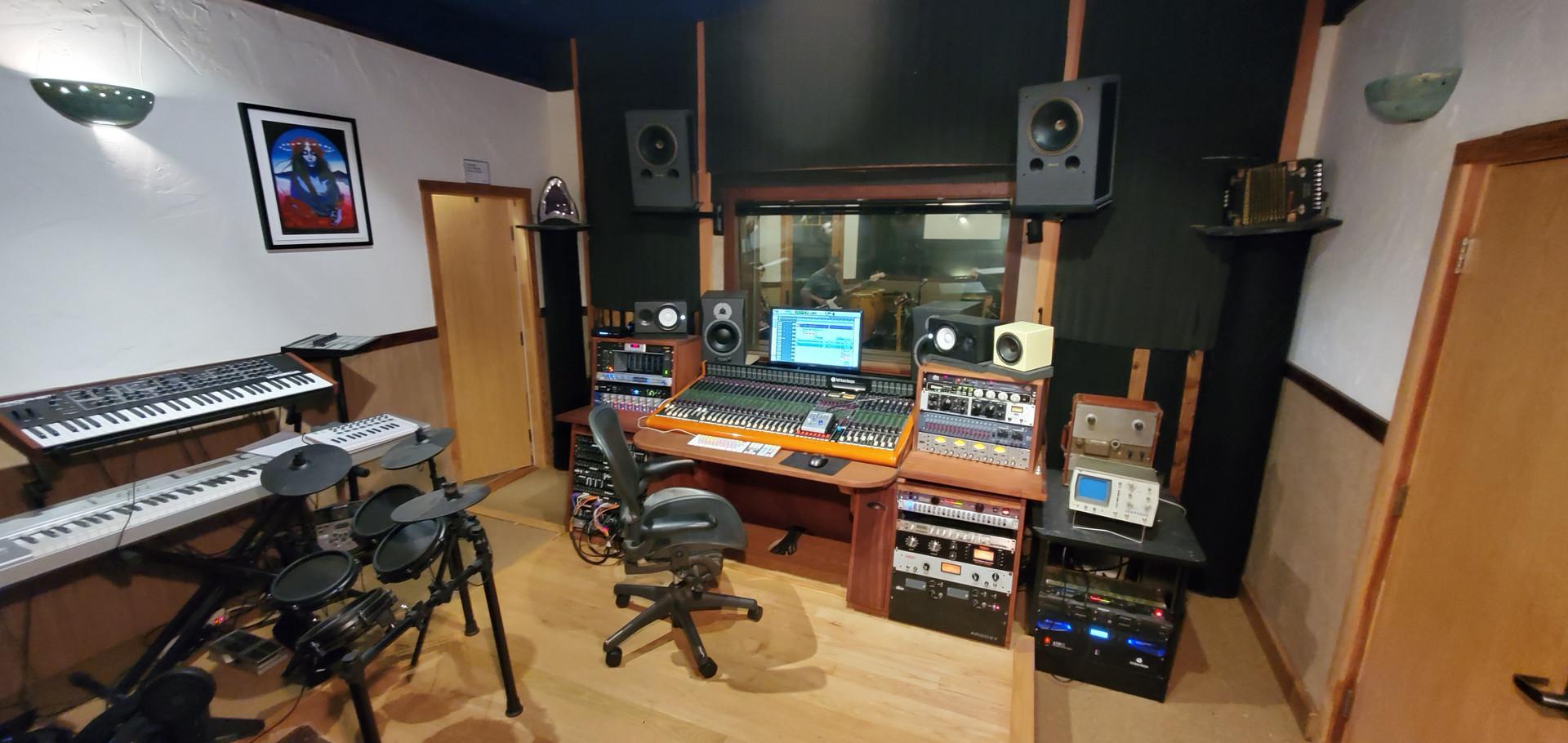 Recording studio California
