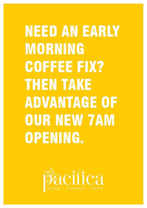 cafe papamoa, early coffee papamoa, takeaway coffee papamoa