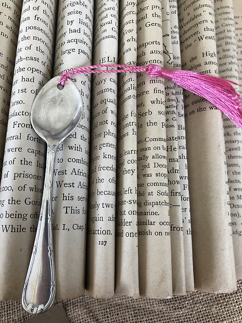 Vintage Teaspoon Bookmark