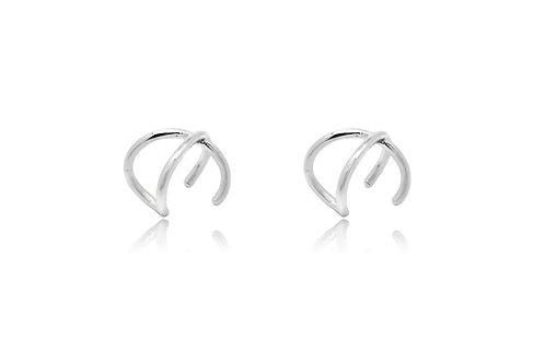Shaye Silver Earring Cuff