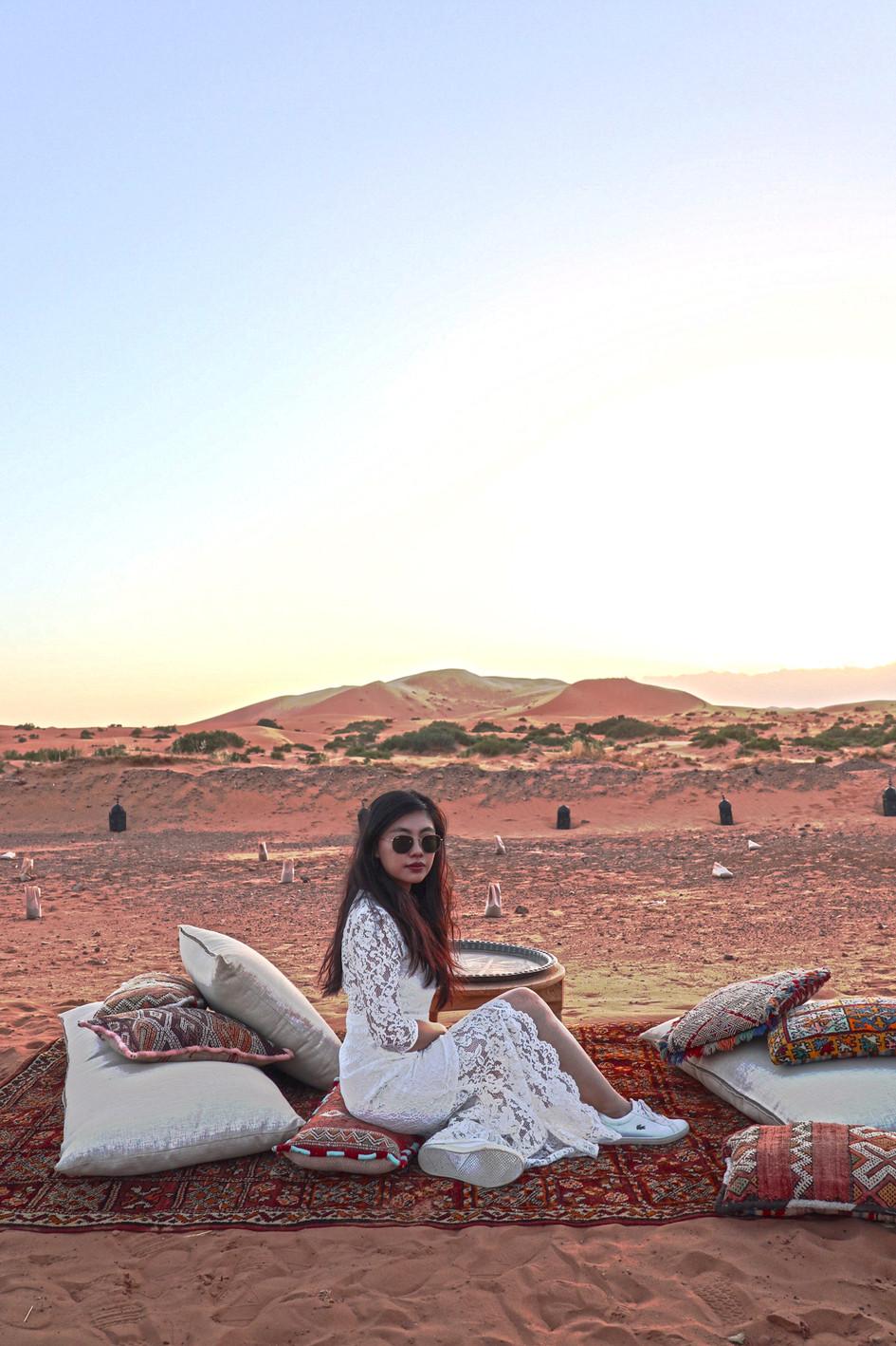 A long ride from Marrakech to reach Dam Dam Dunes.