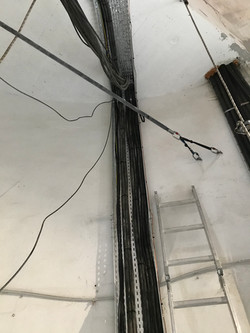 Aménagement d'un château d'eau pour installation d'antennes