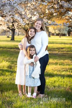 Family portraits outdoors Hampton va