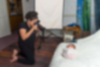 Anne Companion behind the scenes newborn photography