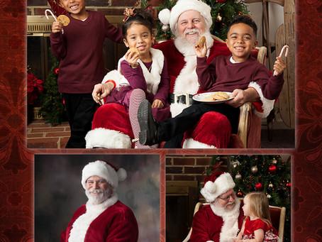 A visit with Santa!