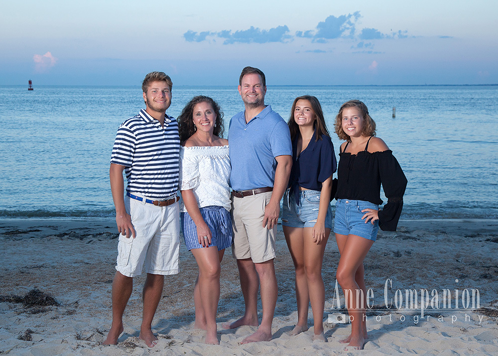 Beach family portraits Hampton Va