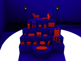 Render Objects Distribution