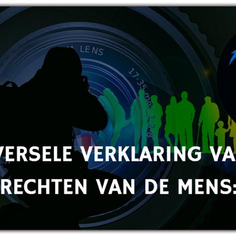 UNIVERSELE VERKLARING VAN DE RECHTEN VAN DE MENS: