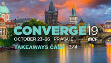 CONVERGE19 - Takeaways 1/4