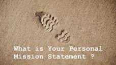 Máte jasno ve svém osobním poslání?