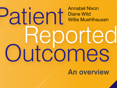 E-book now available by Chilli Consultancy co-authors 'Patient Reported Outcomes: an overview&#3