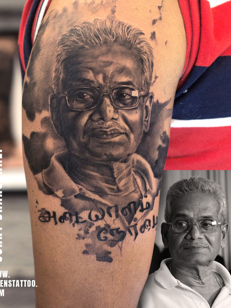 father-tattoo-realistic-portrait-tattoo-