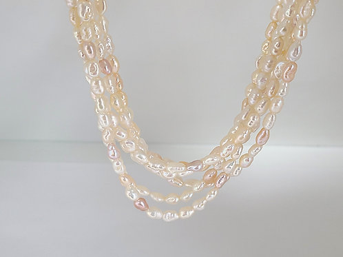 Multi-Strand Freshwater Pearls