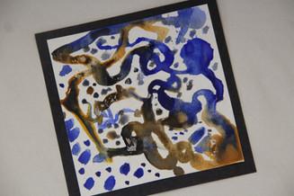 Earth paint tile (age 6)