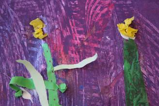 Spring Mixed Media (age 6)