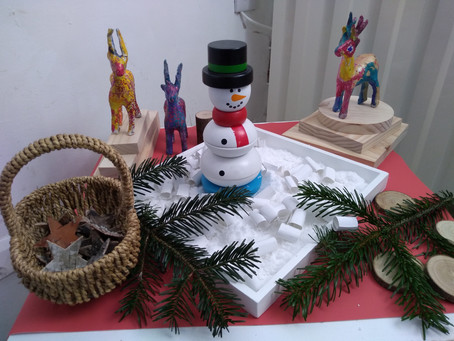 Winter Creative Play For Pre Schoolers