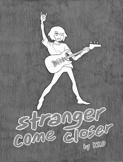 stranger come closer zine cover