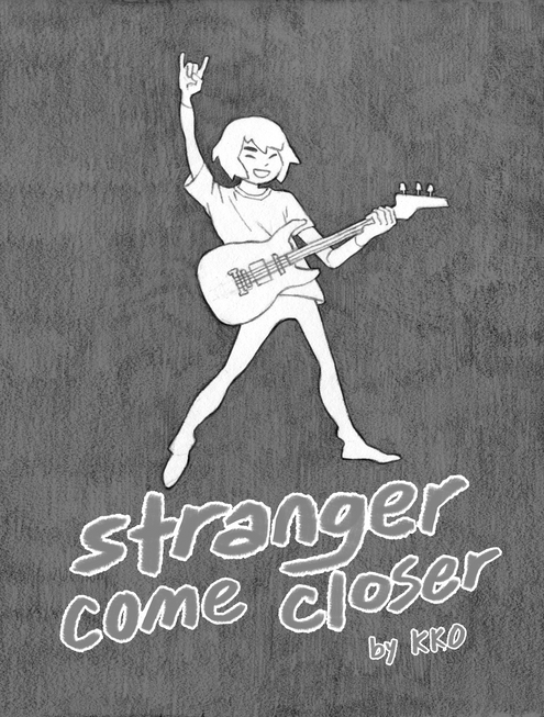 stranger come closer zine cover