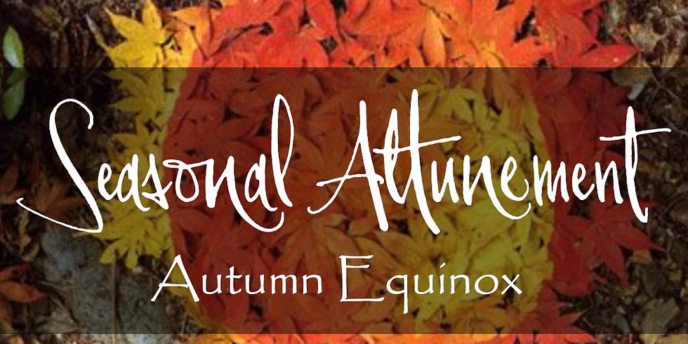 Autumn Equinox | Seasonal Attunement Circle
