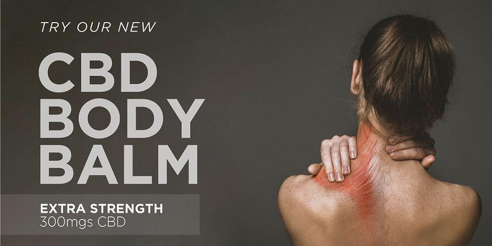 CDB Body Balm - Extra Strength