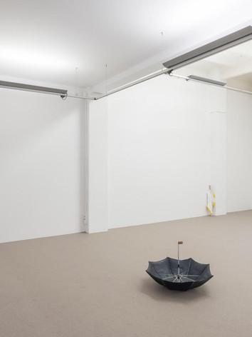 Vue de l'exposition America, Galerie ProjecteSD, Barcelone, Espagne, 2019