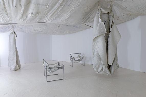 Mélanie Matranga, 反复, 2015, Palais de Tokyo, Paris, vue de l'exposition