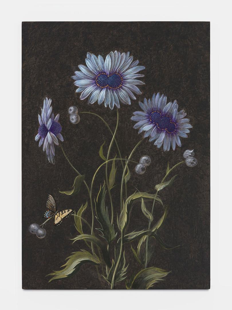 Future Herbarium, 2020 | Détrempe sur bois
