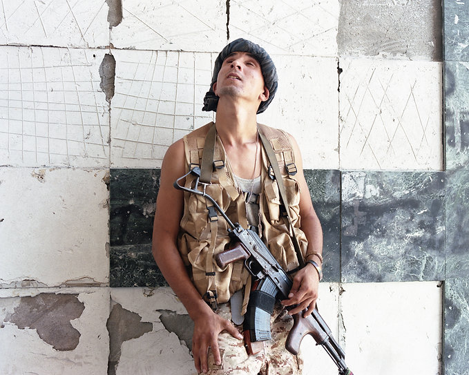 Samuel Gratacap, Guerre contre l'État Islamique, Syrte en Libye, série Fifty Fifty, 2016