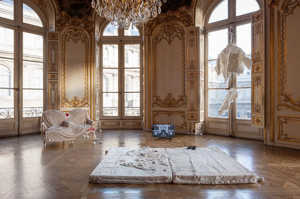 Mélanie Matranga, Prix Aware, 2018, Hôtel de Soubise - Archives Nationales, Paris, vue de l'exposition