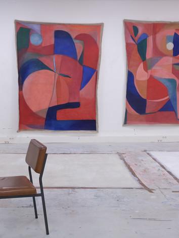 Atelier de Caroline Denervaud, octobre 2020, Paris