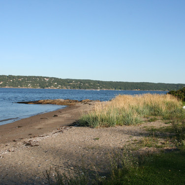 Stranda på Solberg