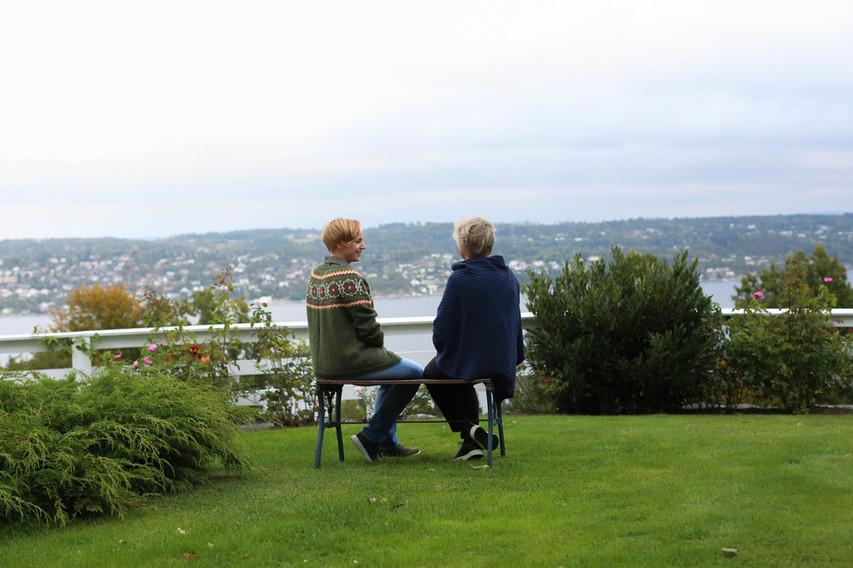 Utsikt på Sundbysand