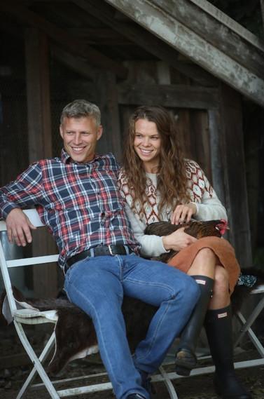 Gyda og Simen på Syverstad