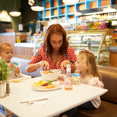 Enjoy family friendly dining at Head Over Heels Chorlton