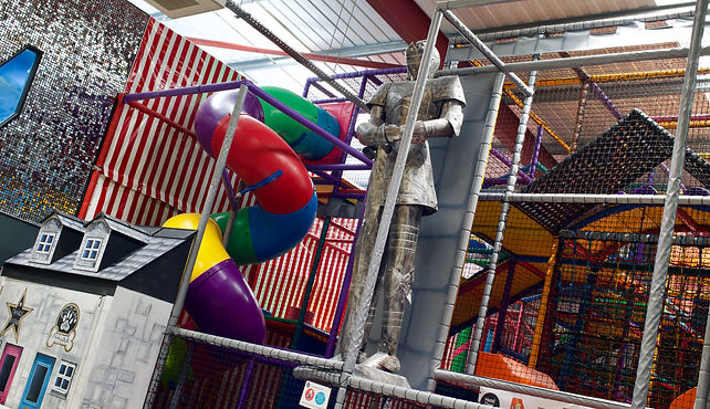 Head Over Heels play frame offers hours of active play and adventure for children aged four and over with a maximum height of 1.45m