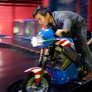 Boy on electric bike at Head Over Heels Wilmslow