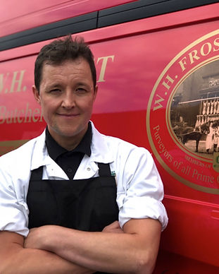All our fresh meat is supplied by award winning family owned W.H.Frost (Butcher) Ltd based in the heart of Chorlton.    