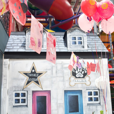 Giant play house opens weekdays during school term time at Head Over Heels Play Chorlton