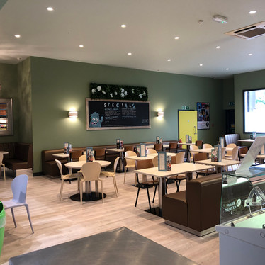 Relax and enjoy a delicious home cooked dish in our family friendly cafe at Head Over Heels Chorlton