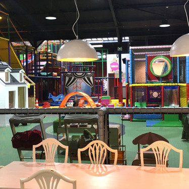 Head Over Heels Wilmslow toddler area as seen from the family retaurant