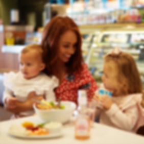 Family friendly cafe at Head Over Heels Indoor Play Centre in Chorton Manchester