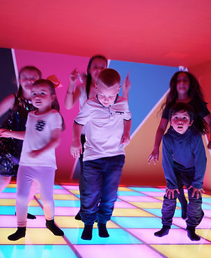 For children and grown ups too, show off you best dance moves in the Head Over Heels disco