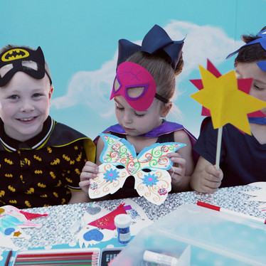 Children's Craft Parties in the private Sky Terrace Suite at Head Over Heels Indoor Play Chorlton Manchester