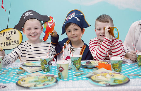 Children Pirate Party at Head Over Heels Indoor Play Centre