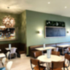 Relaxing family cafe at Head Over Heels Children's Indoor Play Centre Chorton Manchester
