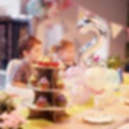 Book a pre school celeraton in the cafe at Head Over Heels Chorlton
