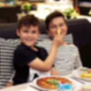 Book a celebration meal in the cafe after school at Head Over Heels Chorlton, Manchester.
